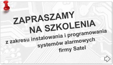 Systemy alarmowe Satel - szkolenia